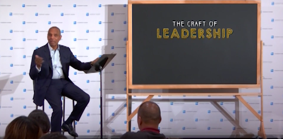 American Express CEO Kenneth Chenault on the Craft of Leadership
